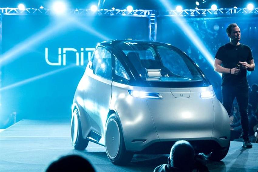 Uniti Showcases Affordable EV Concept At Auto Expo 2018