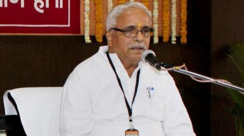 Bhaiyyaji Joshi To Continue As RSS General Secretary For 3 More Years