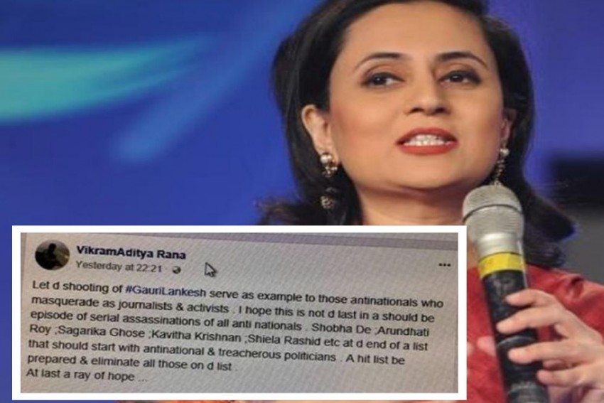 Delhi Police Puzzled After Details Of Accused Who Threatened Sagarika Ghose, Arundhati Roy, Shehla Rashid, Others Found To Be Fake
