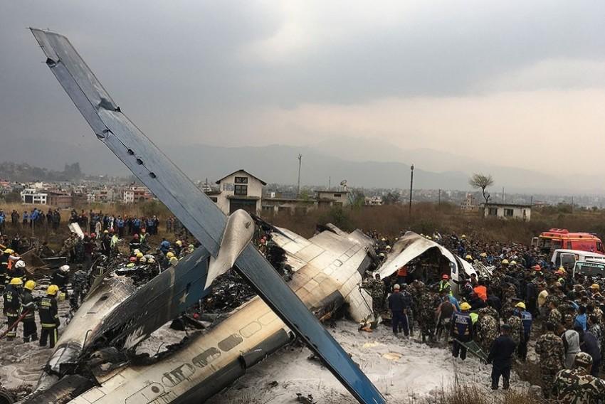 US-Bangla Airlines' Flight Carrying 71 Crashes At Kathmandu Airport, 50 Dead