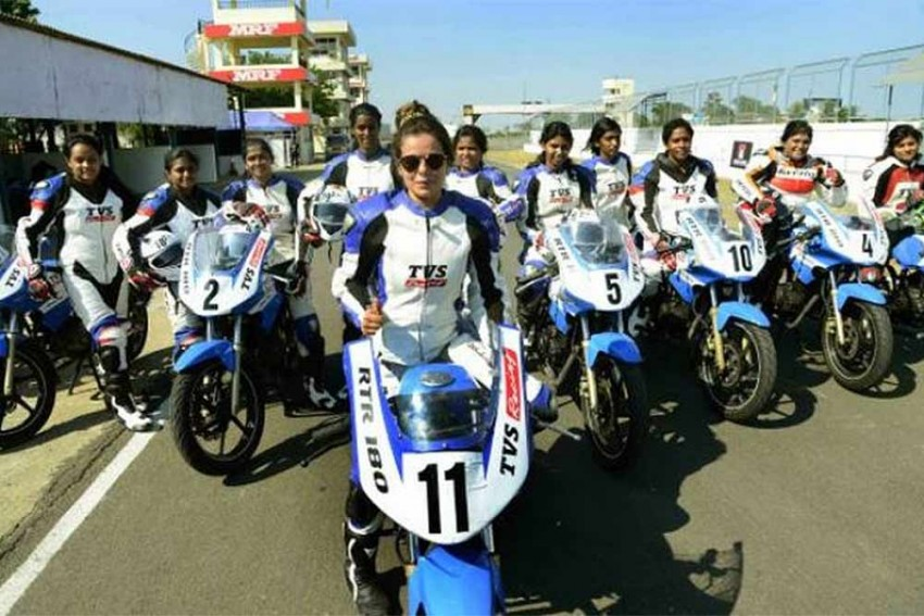 TVS Announces Dates For Womens One-Make Race Series