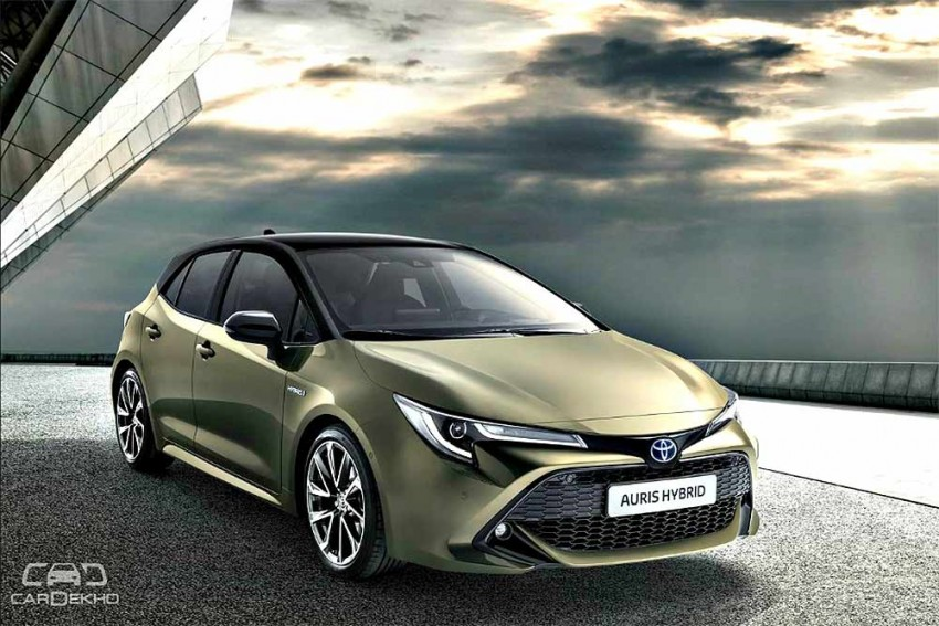 New Toyota Auris Previews Next-Gen Corolla Sedan