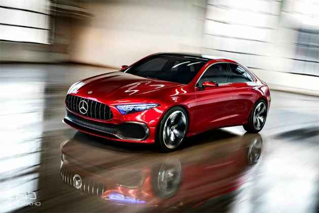 Mercedes Benz Studying A Class Sedan For India To Be Positioned