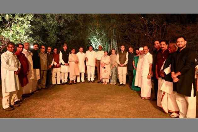 Opposition Parties Come Together To Promote 'Friendship' At Sonia Gandhi's Dinner