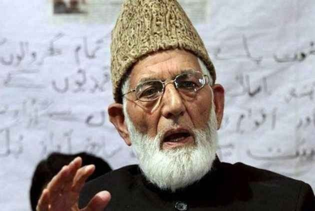 Separatist Leader Syed Ali Geelani Says IB Official Approached Him For 'Talks', He Refused Offer