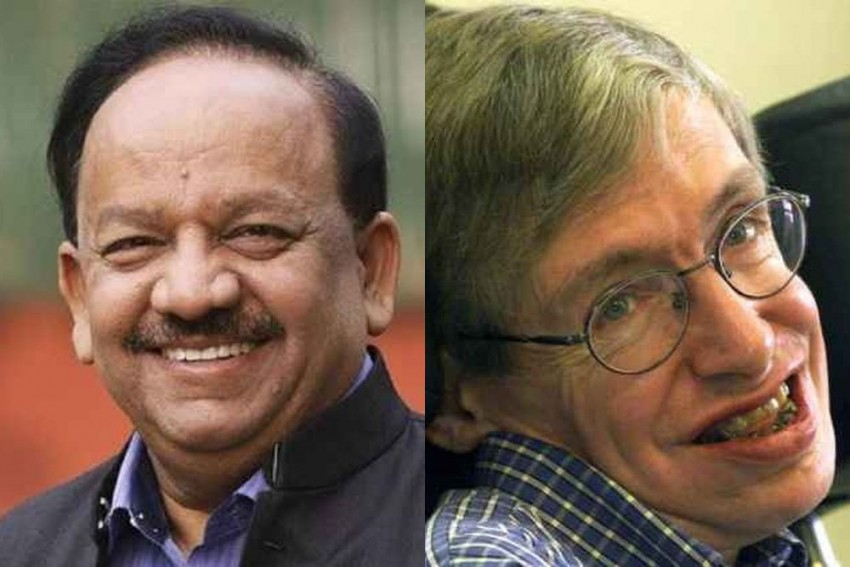 Vardhan's Claim That Hawking Supported 'Vedas Superior' Wrong, Says Founding Trustee Of The Cosmologist's Foundation