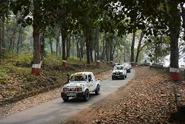 When The Mega Rally Of Annual Himalayan Drive Passed Through Darjeeling's Politically Disturbed Terrain