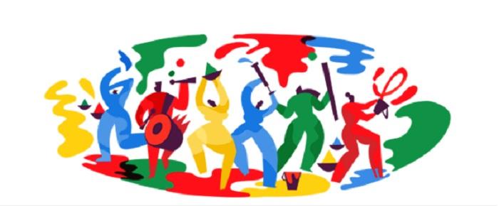 Google Doodle Marks Festival Of Holi