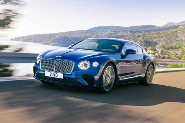 2018 Bentley Continental GT Launch On March 24