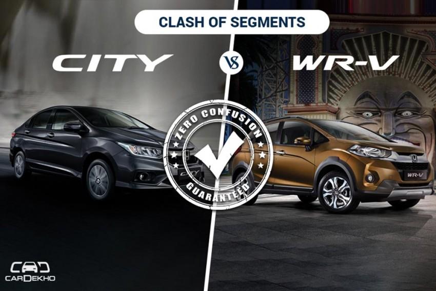 Clash Of Segments: Honda City vs WRV