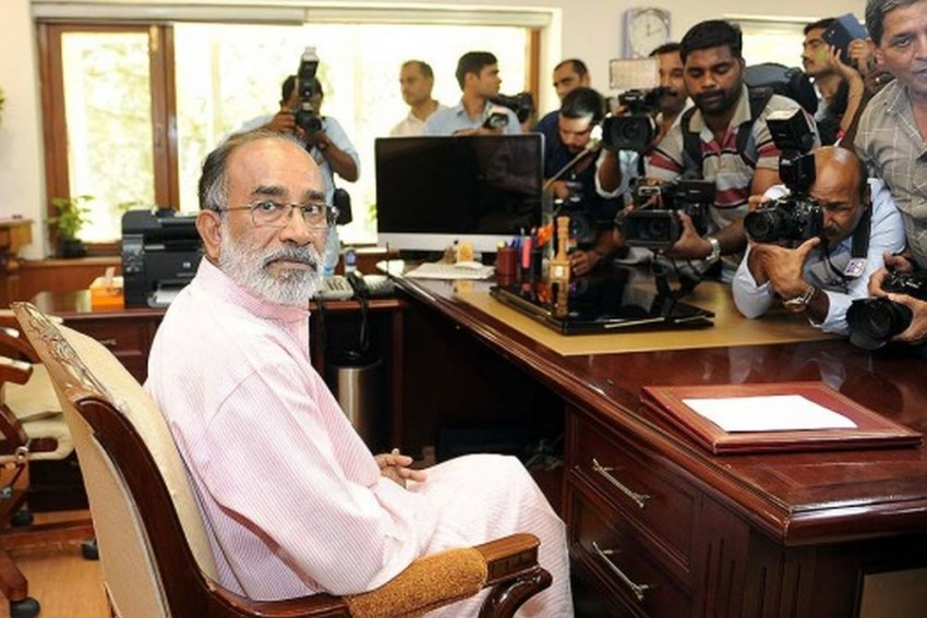 We Don't Mind Getting Naked Before A White Man, But Question Our Own Govt On Privacy: Union Minister K.J Alphons On Aadhaar