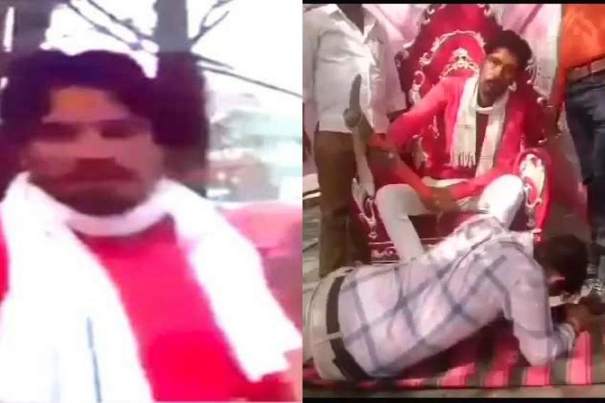 Man Accused Of Hacking, Burning Alive Muslim Labourer Hailed As Hero In Ram Navami Tableau In Rajasthan