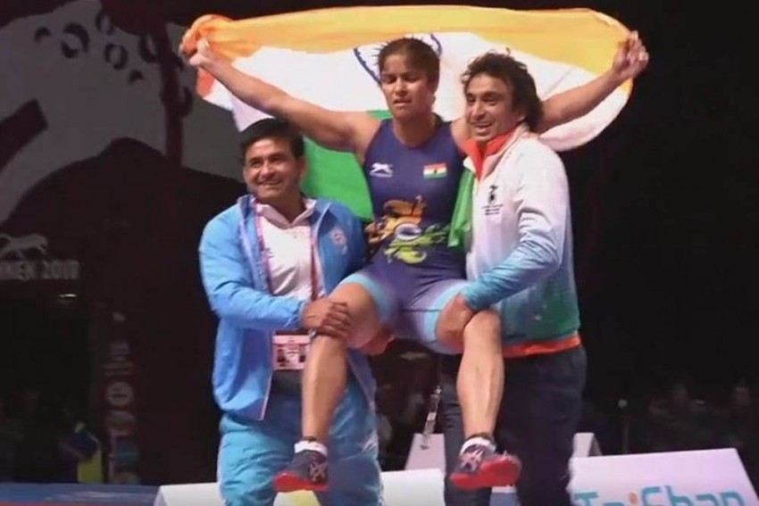 Navjot Kaur Scripts History, Becomes First Indian Woman Wrestler To Win Gold In Senior Asian Championships