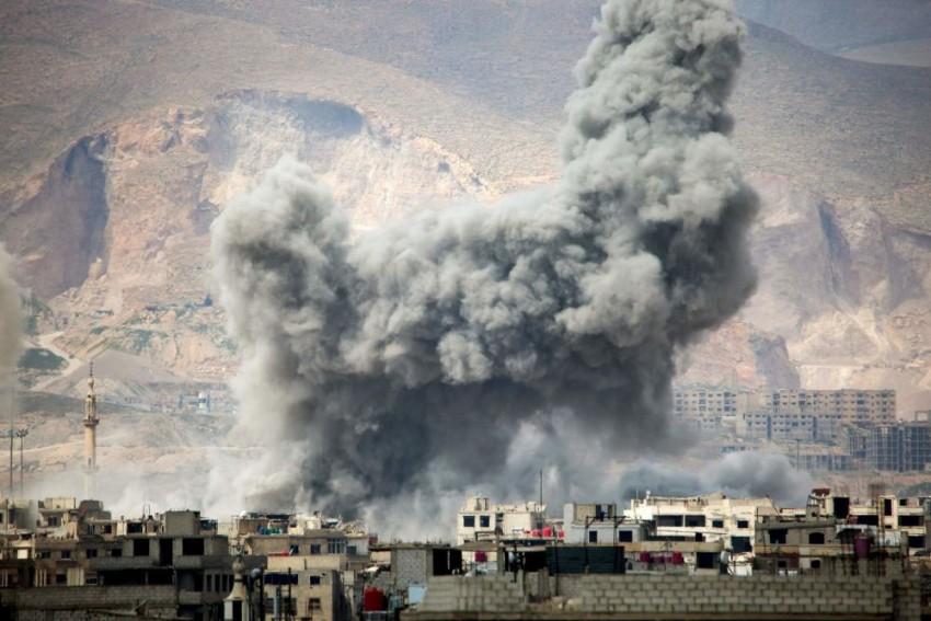 Fresh Air Raids On Syria's Ghouta Kill 14 Civilians, Says Report