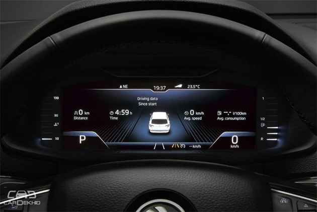 Skoda Superb Kodiaq Octavia Get Digital Instrument