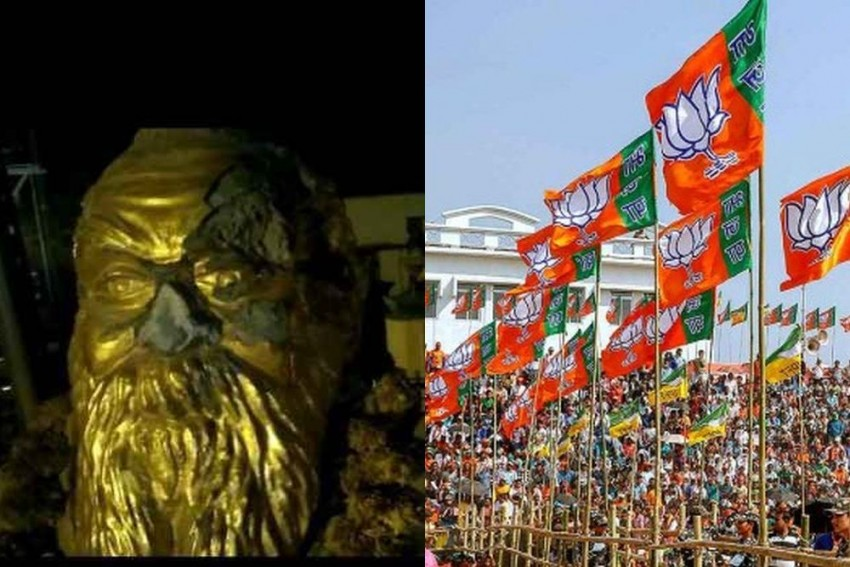Petrol Bombs Hurled At BJP Office In Coimbatore After Periyar Statue Vandalised In Vellore