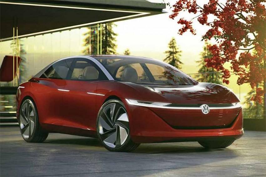 Volkswagen I.D. Vizzion Concept Showcased: Geneva Motor Show 2018