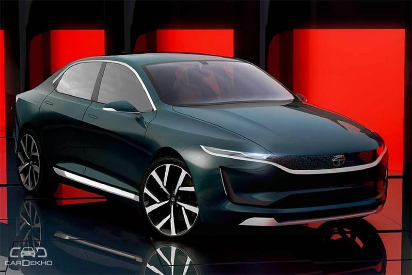 Tata E-Vision Makes Global Debut At Geneva Motor Show 2018; Based On H5X Concept SUV