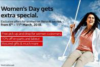 Renault Celebrates Women's Day With Special Offers, Discounts