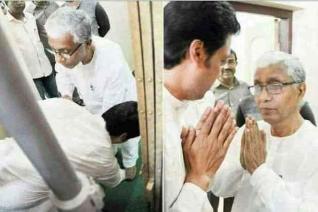 Tripura CM-Elect Biplab Deb, Ram Madhav To Personally Meet, Invite Manik Sarkar For Tomorrow's Swearing In Ceremony