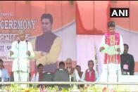 Biplab Deb Takes Oath As Chief Minister Of Tripura In Presence Of PM Modi, Manik Sarkar