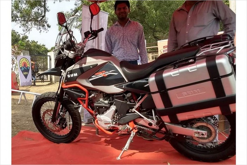SWM Superdual T600 Makes Its Indian Debut