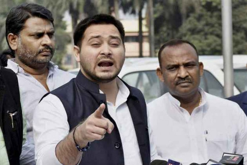 Modi's Claim That Bihar Govt Built 8,50,000 Toilets In 1 Week Doesn't Add Up: Tejashwi Yadav