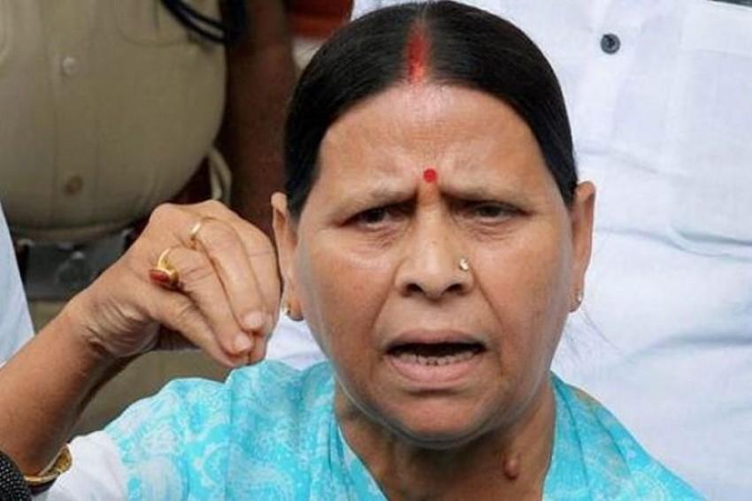 Bihar Government Wants To Kill Me And My Family,' Says Rabri Devi
