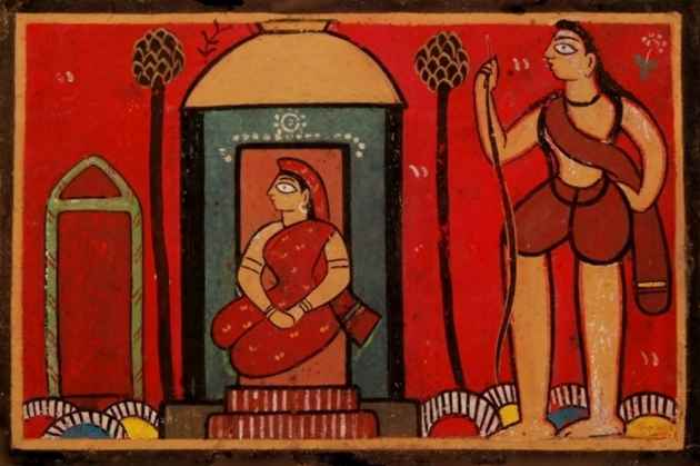 Jamini Roy: Clarification Of A Fact The Art World Generally Gets Wrong