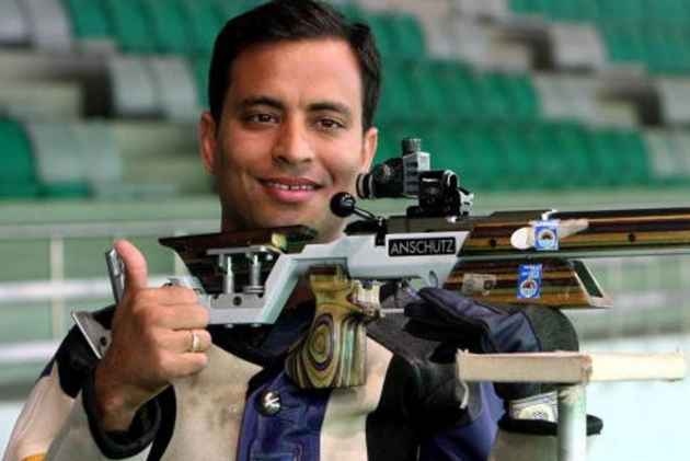 CWG 2018: Sanjeev Rajput Breaks Games Record To Claim Gold In 50m Rifle 3 Positions