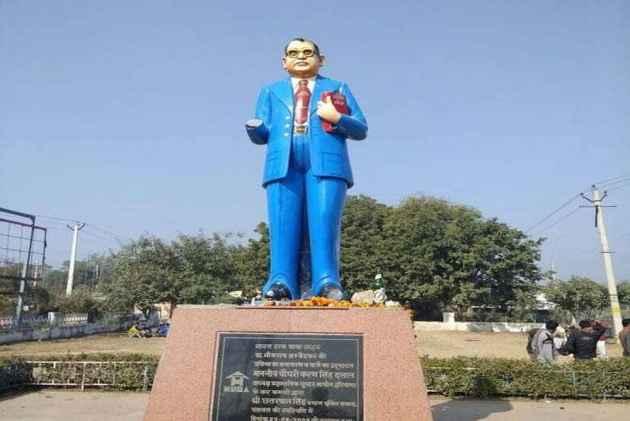 How Colour Blue Got Associated With B.R Ambedkar