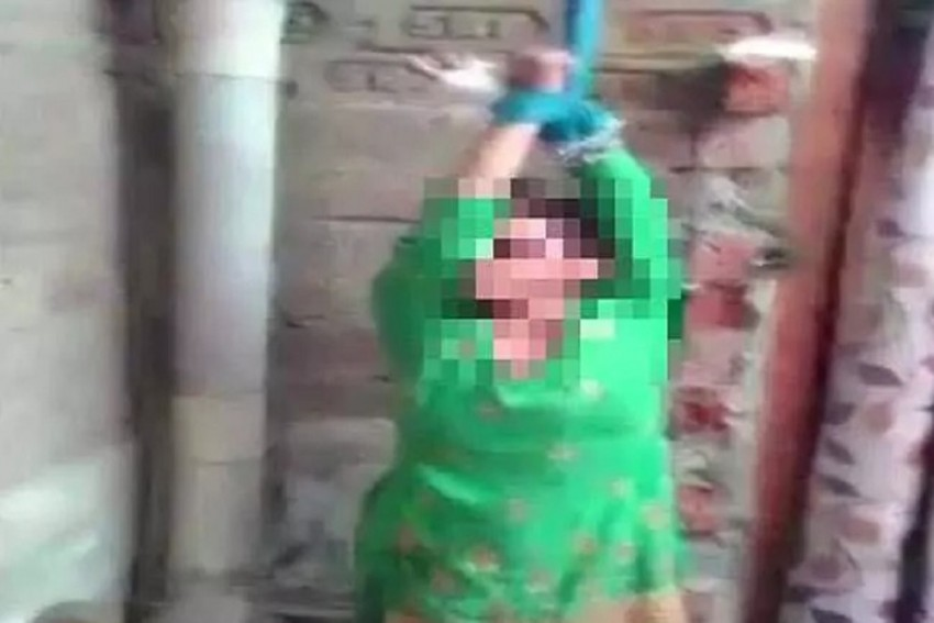 Uttar Pradesh: Man Ties Wife To Ceiling, Brutally-Thrashes Her For Dowry