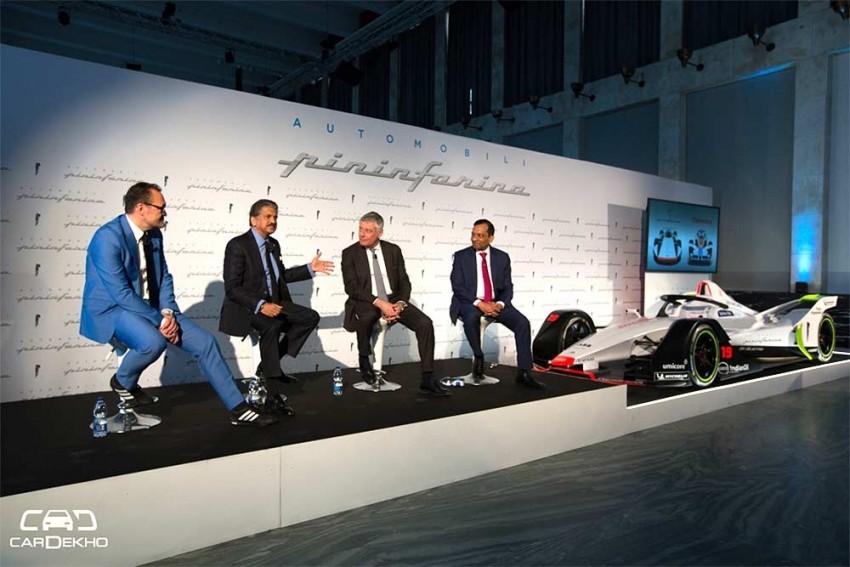 Mahindra's Automobili Pininfarina To Launch Electric Hypercar In 2020