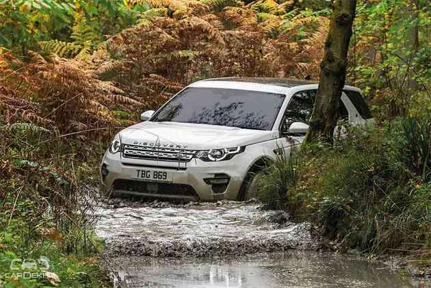 Land Rover Begins 2018 Off-Road Experience Drive - Discovery Sport, Evoque To Steer The Tour