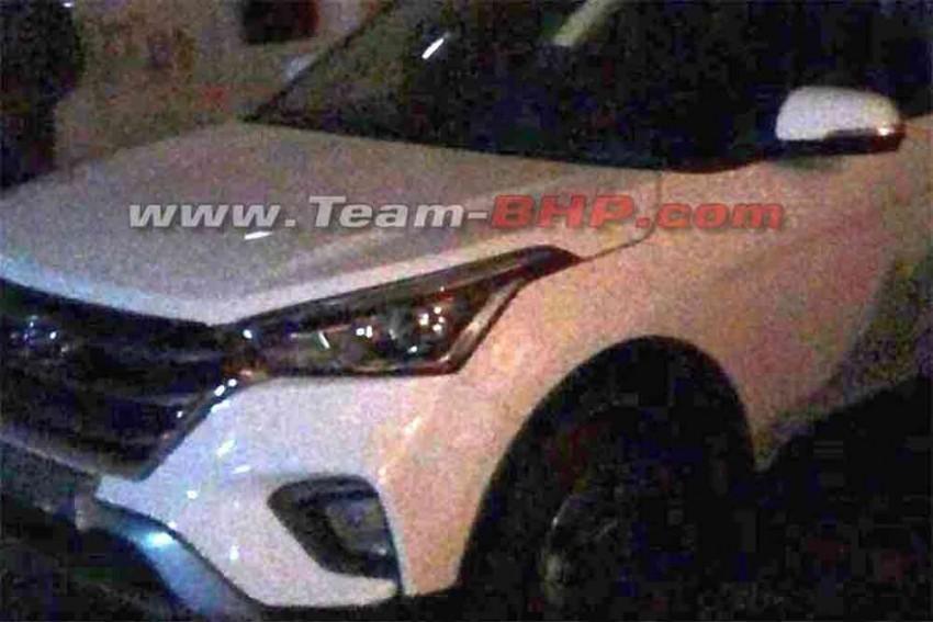 2018 Hyundai Creta Facelift Spied Undisguised