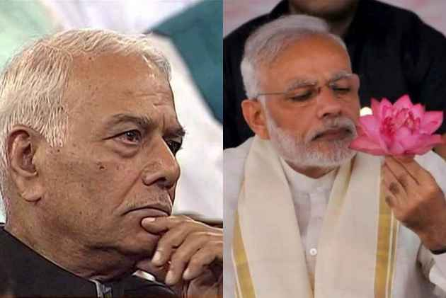 In The Interest Of Nation, Speak Up Against Your Bosses, Yashwant Sinha Urges BJP Lawmakers