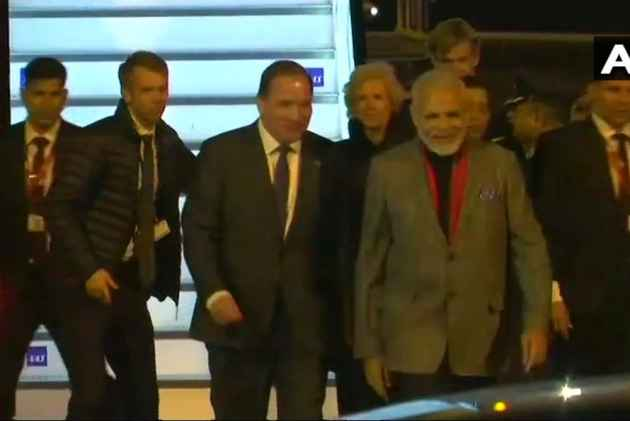 PM Modi Arrives In Sweden In First Bilateral Visit By Indian Premier In 30 Years