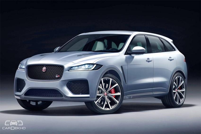 Jaguar F-Pace Gets SVR Treatment