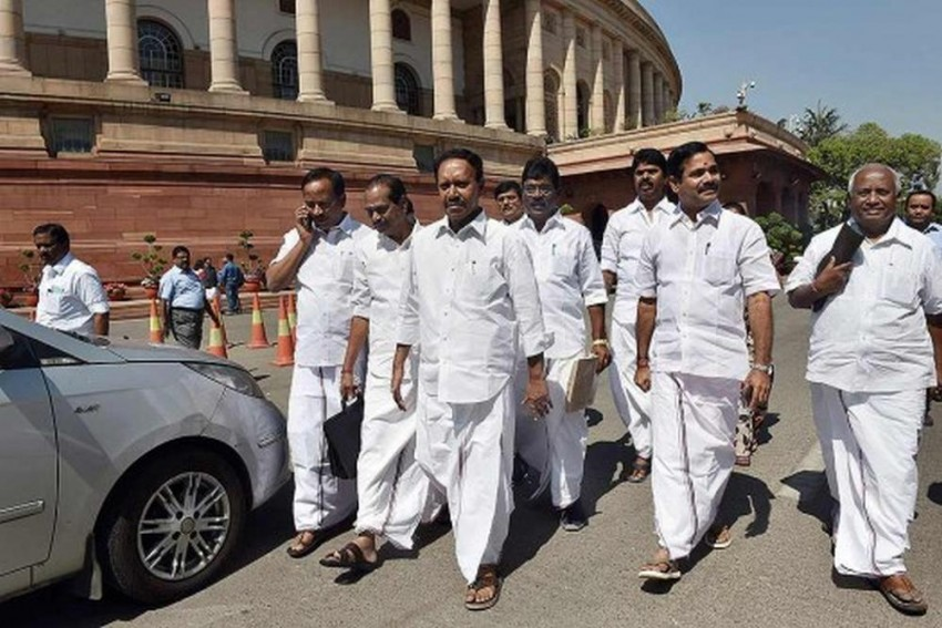 AIADMK Seeks Congress Support For No-Confidence Motion Against Modi Govt