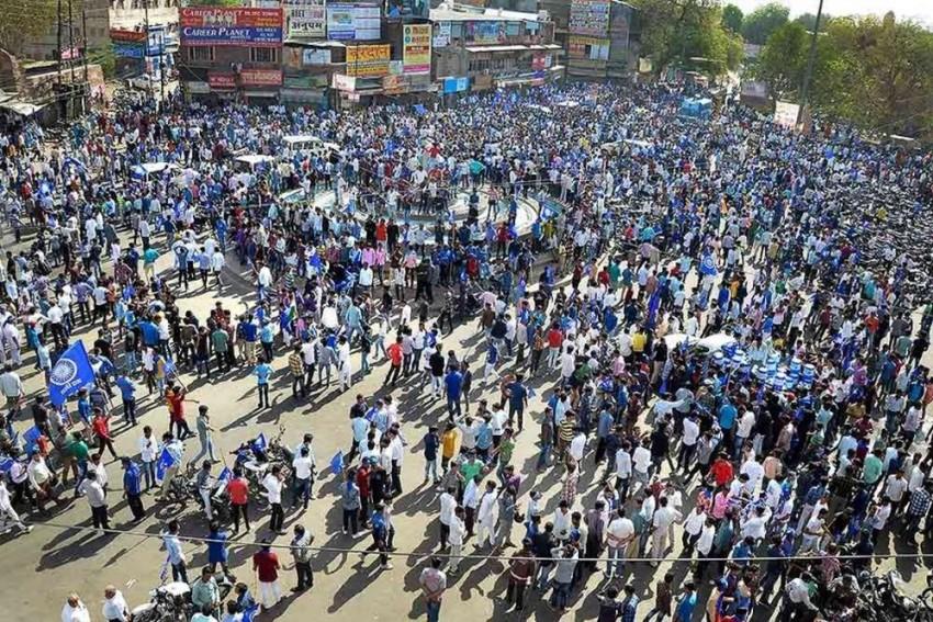 One Killed, 448 Detained In Uttar Pradesh During Bharat Bandh: Police