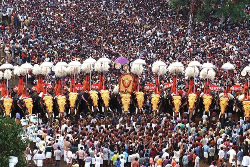 Thrissur Pooram: Elephants, Parasols, Ensembles, Fireworks, Crowd And An Unexpected Death