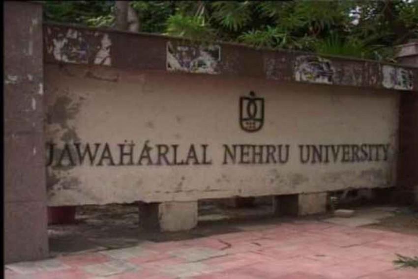 Protests In JNU Against Screening Of Film On 'Love Jihad'