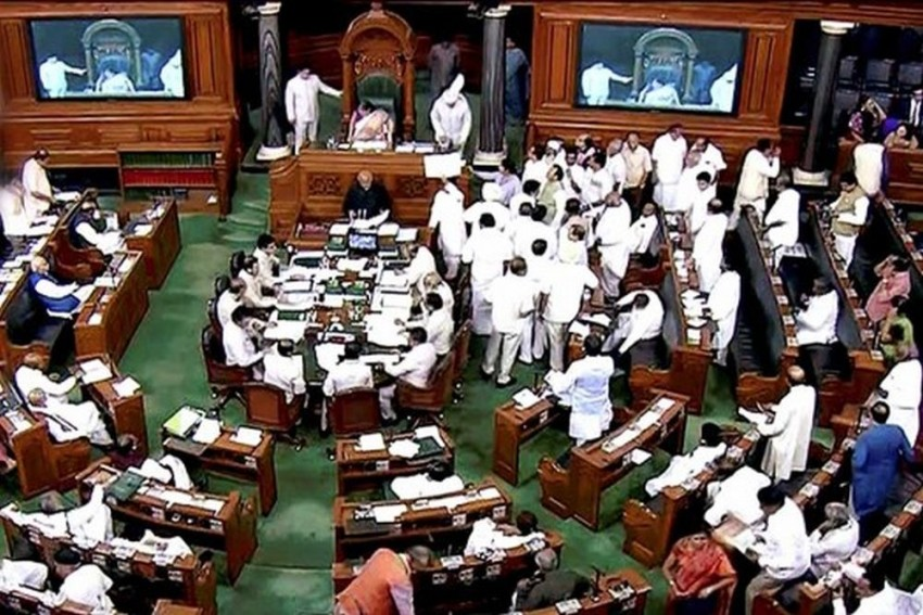 Lok Sabha Adjourned For 20th Consecutive Day