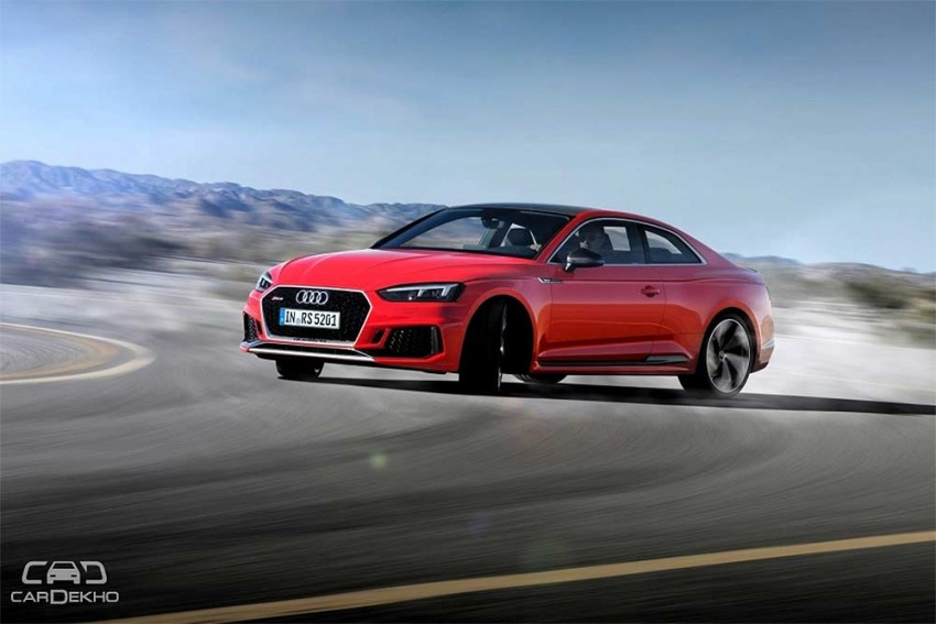 New Audi RS 5 Coupe Lands In India; Launch On April 11