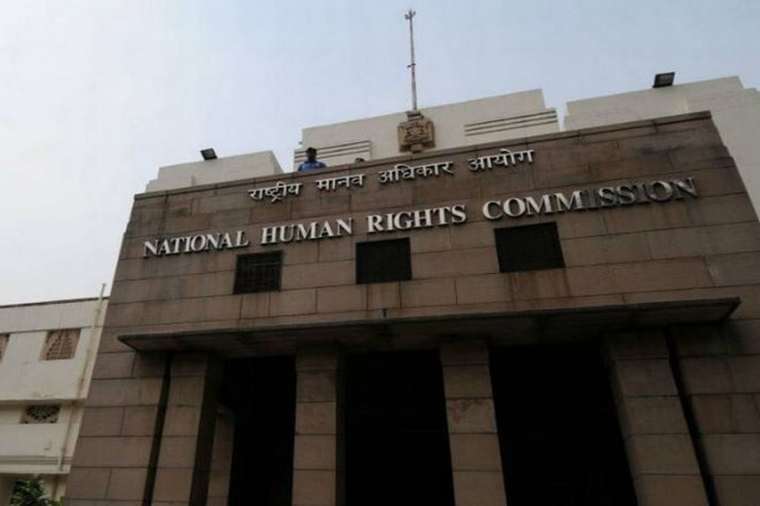 NHRC Issues Notices To MP Govt Over Caste Mark On Chests of Police Aspirants