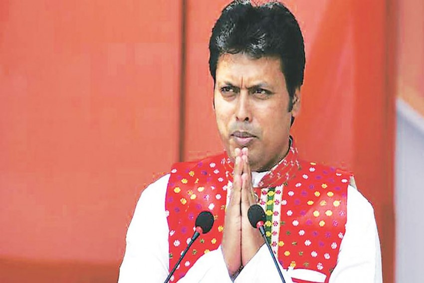 'Will Chop off Nails If Anyone Interferes In My Government', Says Tripura CM Biplab Kumar Deb