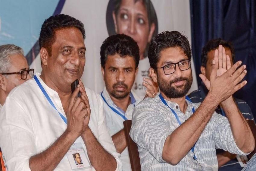 Karnataka BJP Files Complaint Against Jignesh Mevani, Prakash Raj For Remarks On PM Modi