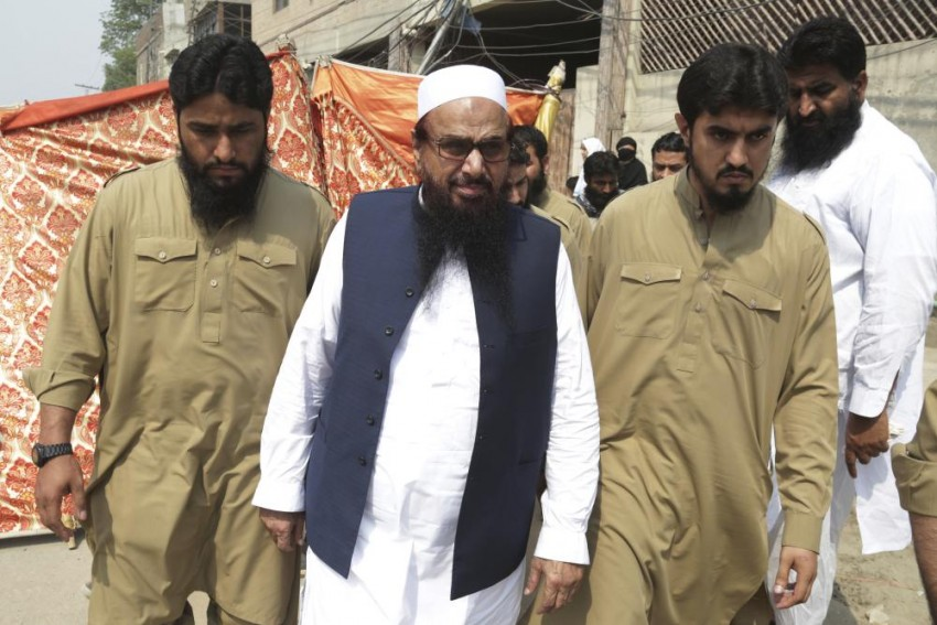 Hafiz Saeed Leads Prayer And Rally For Kashmiri Militants Killed Recently