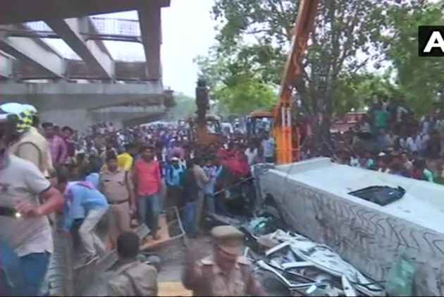 At Least 12 Killed, Several Trapped As Under-Construction Flyover Collapses In Varanasi