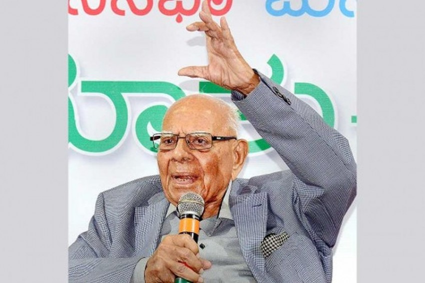 Senior Lawyer Ram Jethmalani Moves SC Against Karnataka Guv Order Inviting BJP To Form Govt
